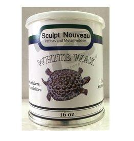 Sculpt Nouveau Metal Wax White 16oz
