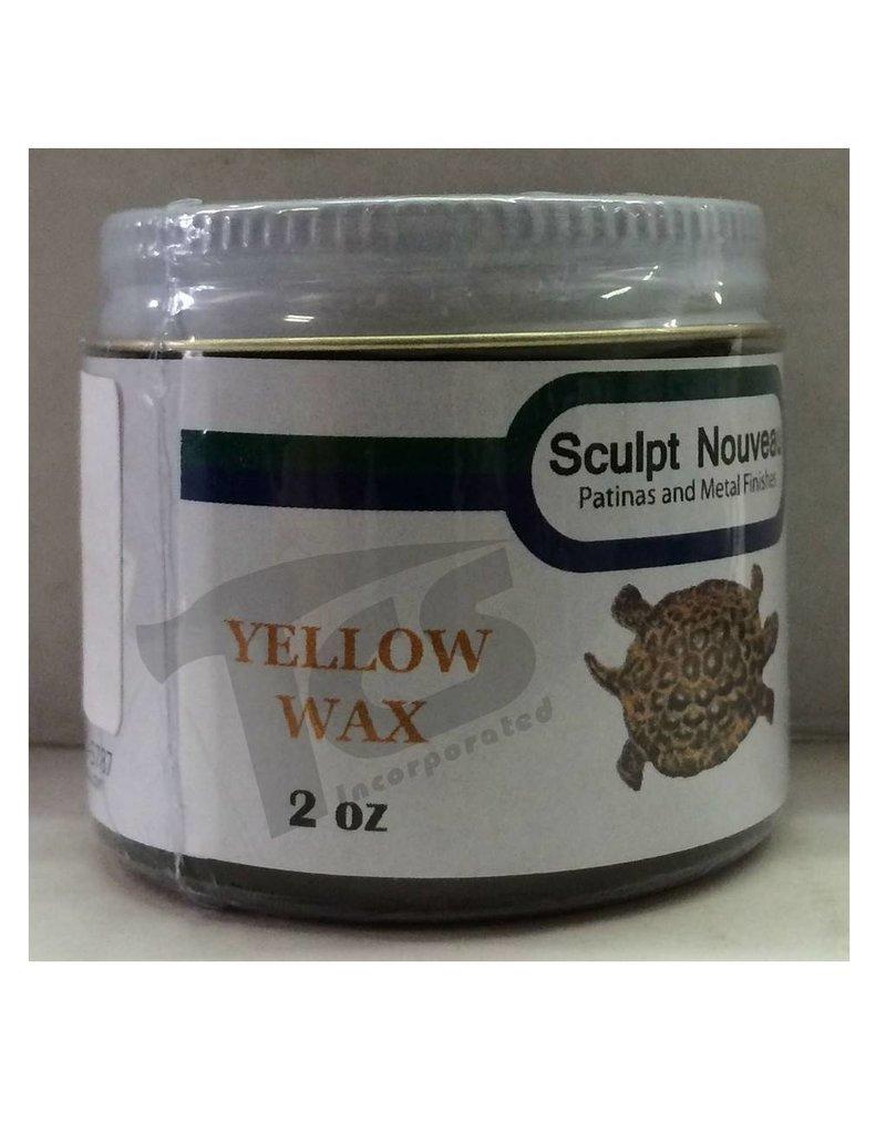 Sculpt Nouveau Metal Wax Yellow 2oz