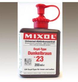 Mixol Mixol #23 Dark Brown 200ml