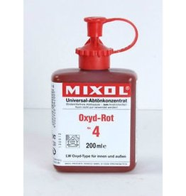 Mixol Mixol #04 Oxide Red 200ml