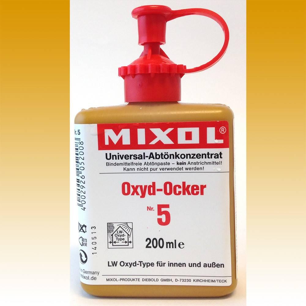 Mixol Mixol #05 Oxide Yellow 200ml