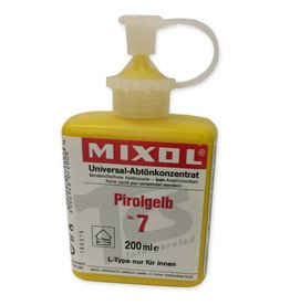 Mixol Mixol #07 Canary Yellow 200ml