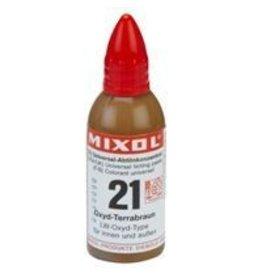 Mixol Mixol #21 Oxide Terracotta Brown 20ml