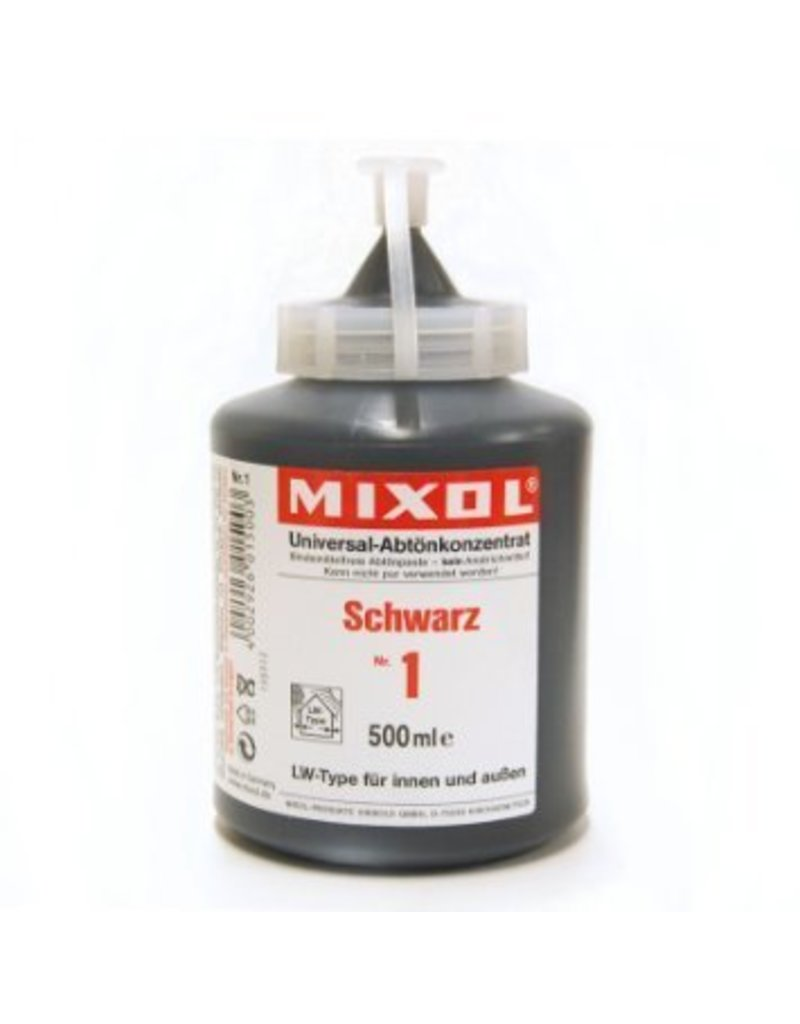 Mixol Mixol #01 Black 500ml