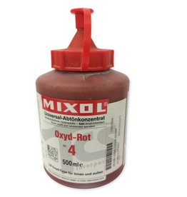 Mixol Mixol #04 Oxide Red 500ml