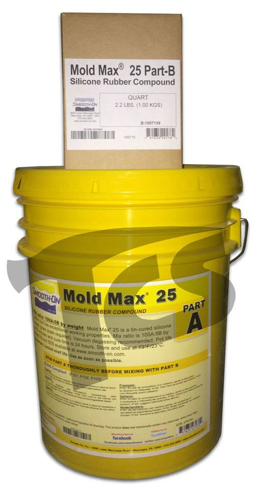 Smooth-On Mold Max 25 5 Gallon Kit