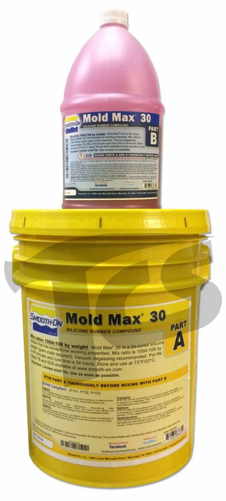 Mold Max 30 5 Gallon Kit The Compleat Sculptor The