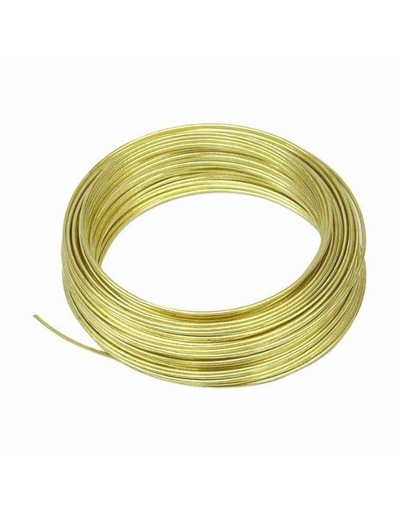 OOK OOK Brass Wire 20 Gauge 50'