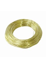 OOK OOK Brass Wire 24 Gauge 100'