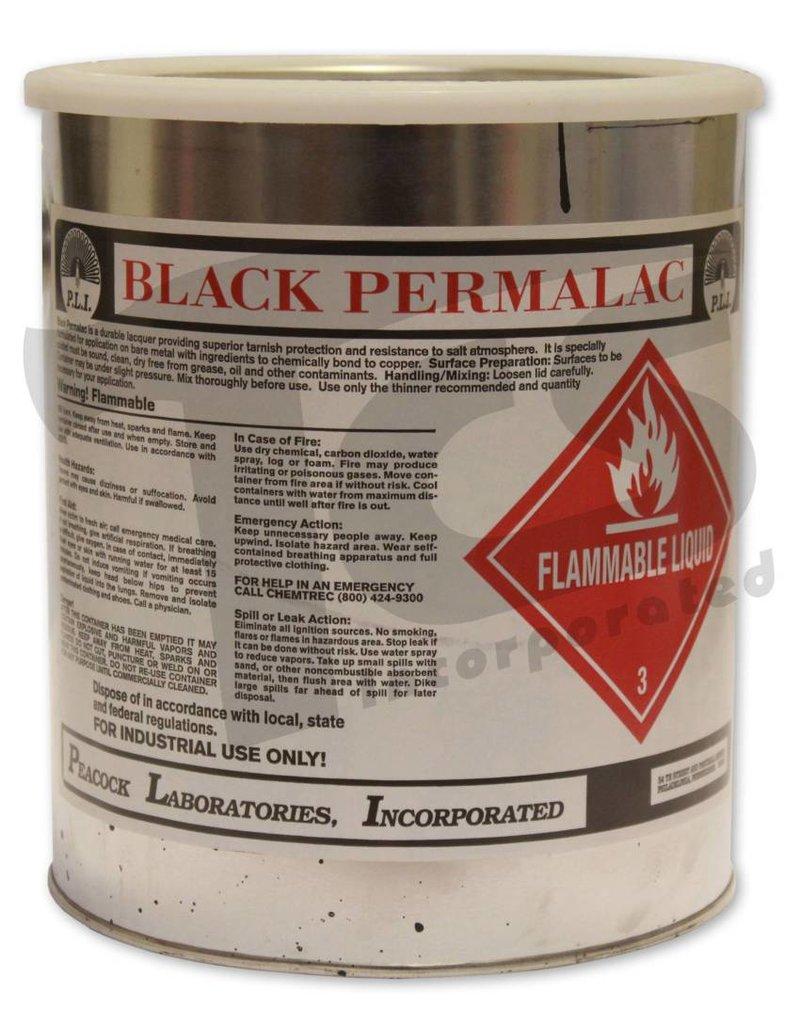 Permalac Permalac Satin Black Transparent Gallon