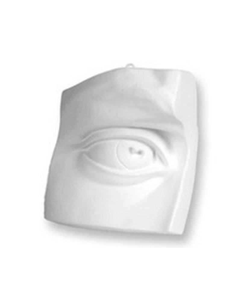 Just Sculpt Plaster Eye Of David