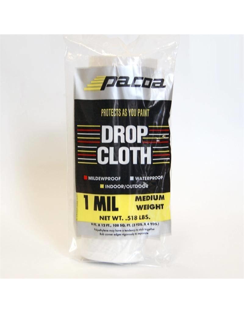 Plastic Drop Cloth 1Mil 10'x20'