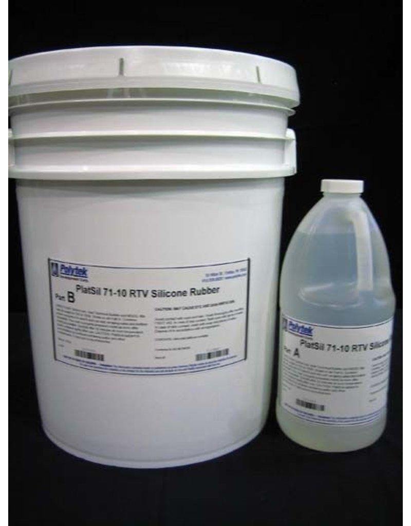 Polytek PlatSil 71-10 5 Gallon Kit