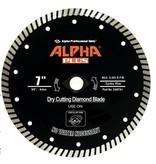 Alpha Plus Diamond Blade 7in