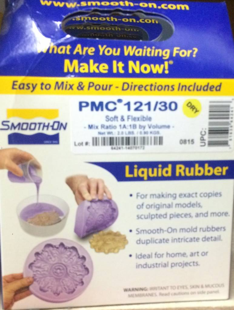 Smooth-On PMC 121/30 Dry Trial Kit