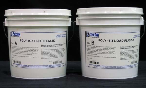 Polytek Poly 15-3 2 Gallon Kit Special Order (20lbs)