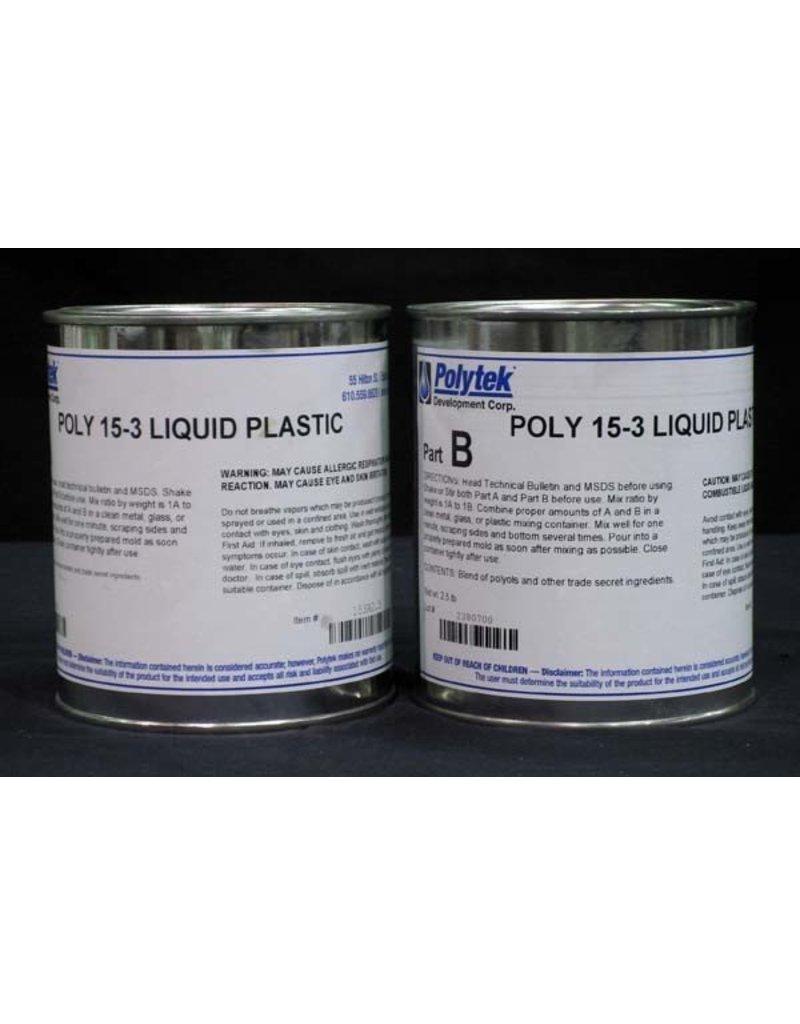Polytek Poly 15-3 Trial Kit Special Order (5lbs)