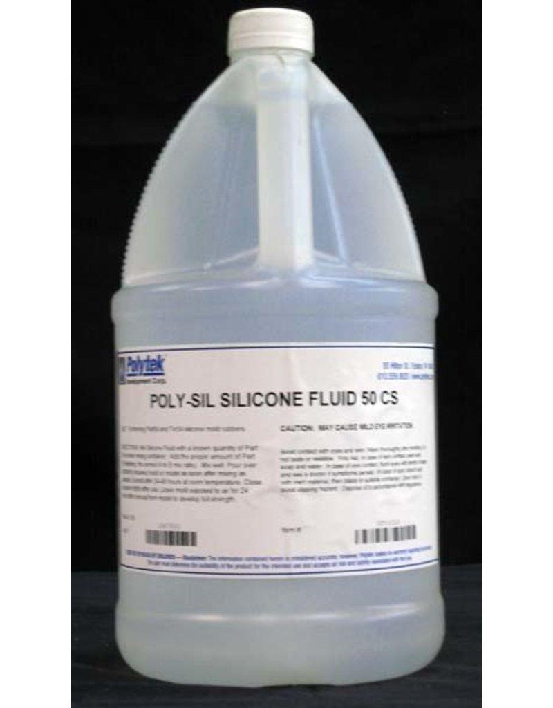Polytek Development Poly-Sil Silicone Thinner Fluid Gallon 50cps