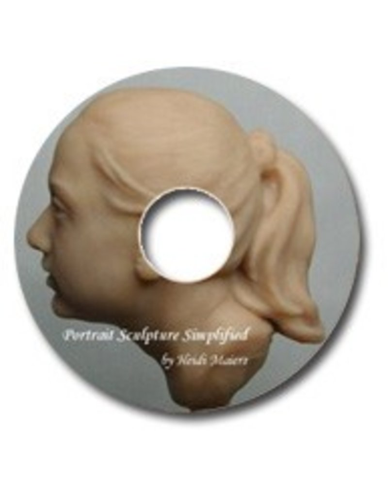 Portrait Sculpture E-Book by Heidi Maiers