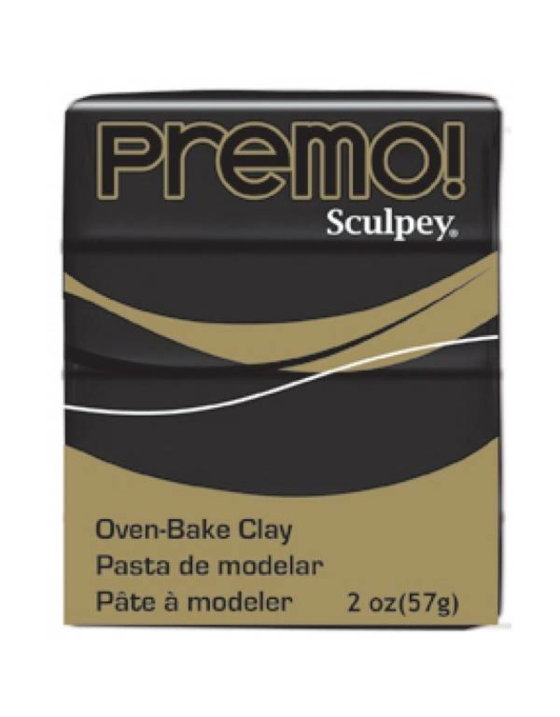 Polyform Premo Sculpey Black 2oz