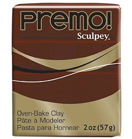 Polyform Premo Sculpey Burnt Umber 2oz