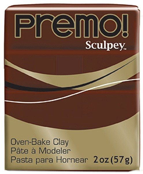 Polyform Premo Sculpey Burnt Umber 2oz