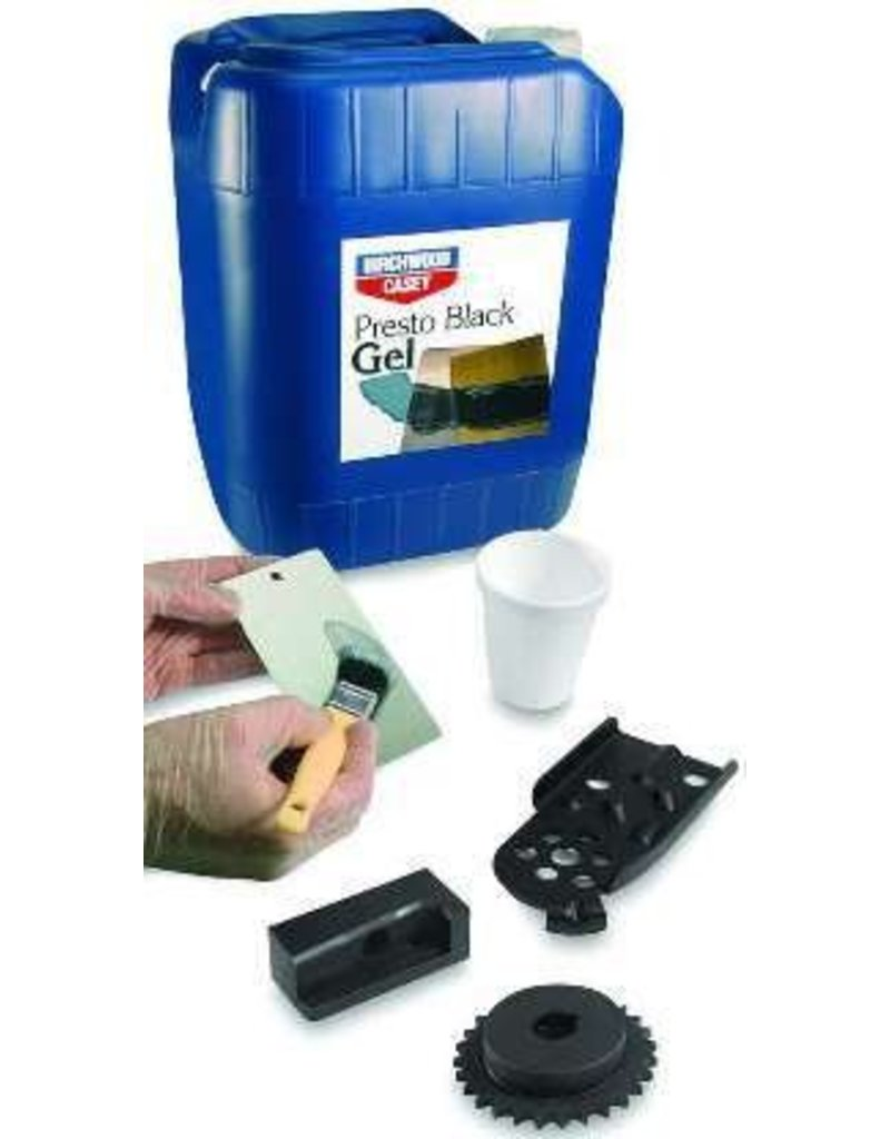 Birchwood Casey Labs Presto Black Gel 5 Gallon