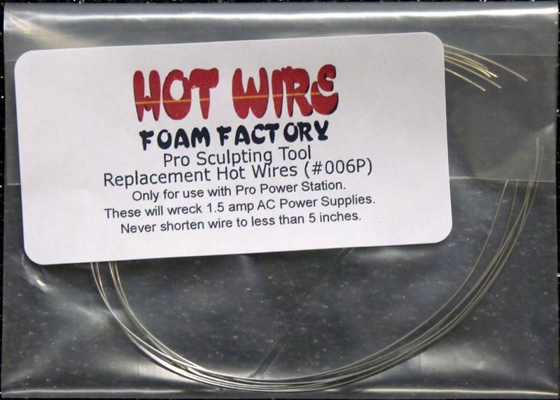 Hot Wire Foam Factory Pro Sculpting Replacement Wire (6-pack)