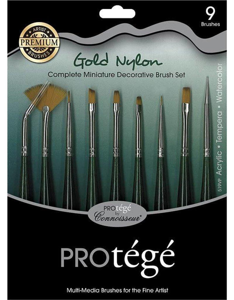 Protege 9pc Brush Set
