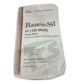 Ransom & Randolf Ranco-Sil #4 200 55lb Bag Fine Fused Silica