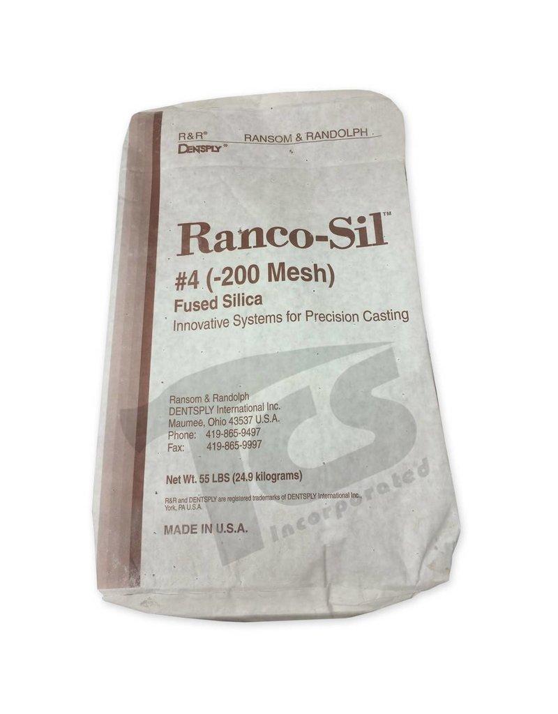 Ransom & Randolf Ranco-Sil #4 200 55lb Bag Fine Fused Silica