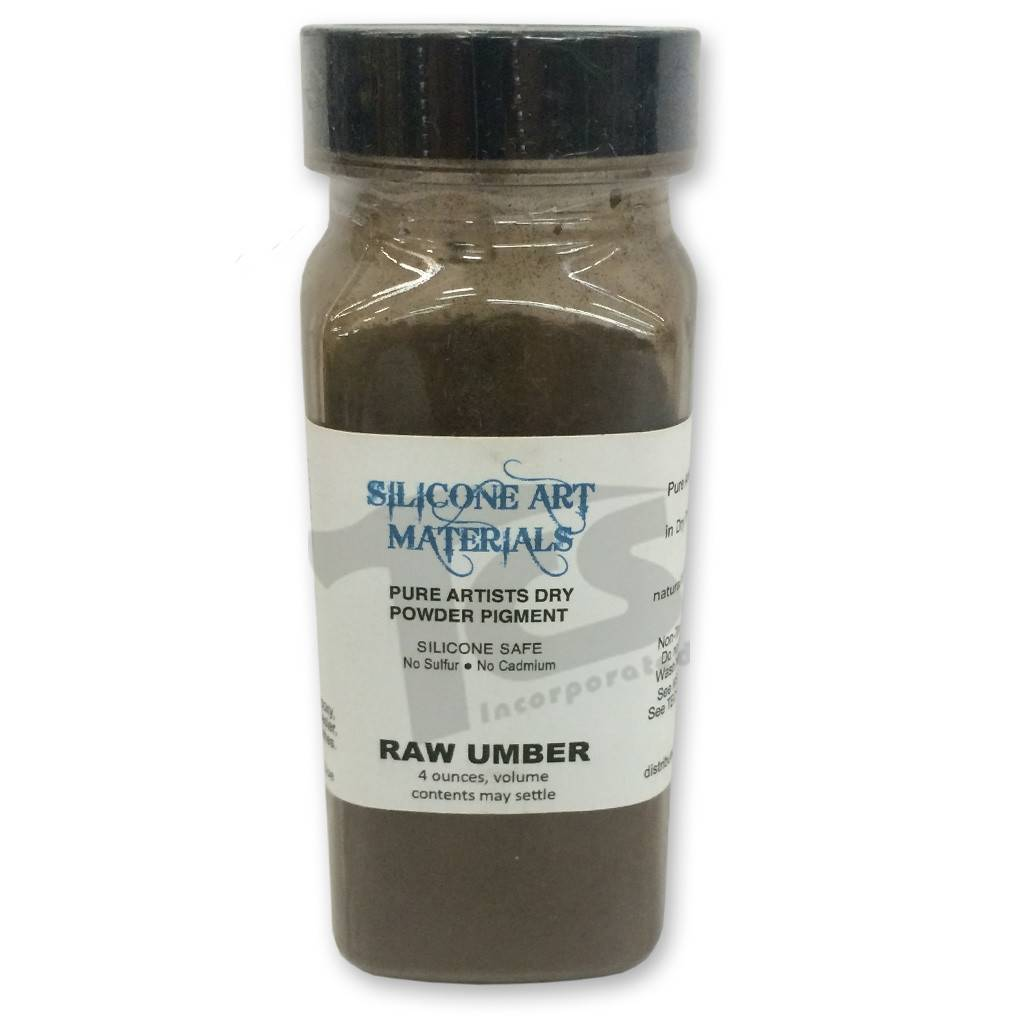 SAM Dry Pigment Raw Umber 4oz
