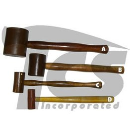 Rawhide Leather Mallet 1''