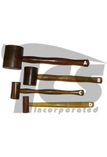 Rawhide Leather Mallet 2''