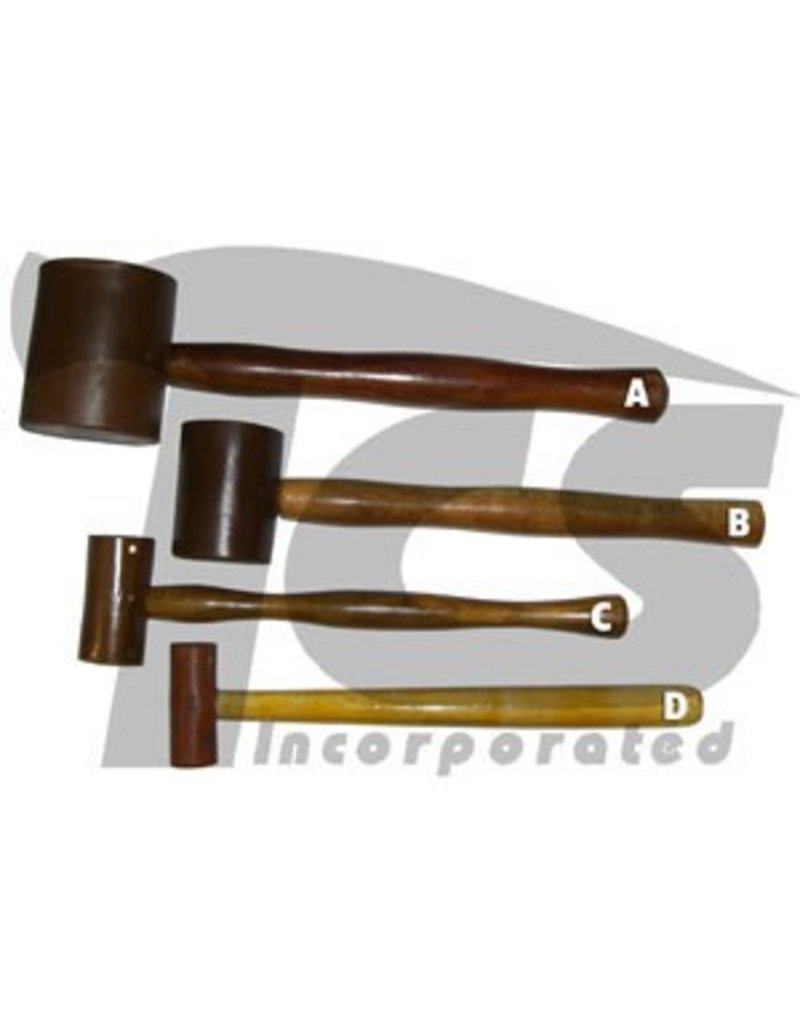 Rawhide Leather Mallet 3''