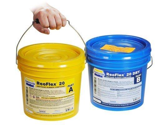 Smooth-On ReoFlex 20 Dry 2 Gallon Kit