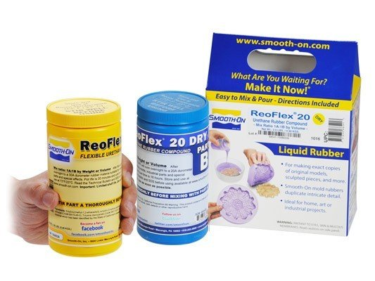 Smooth-On ReoFlex 20 Dry Trial Kit Special Order