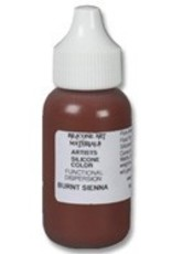 silicone art materials Silicone Dispersion Burnt Sienna 1oz