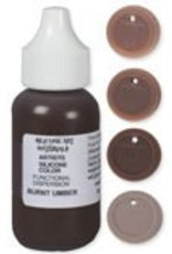 silicone art materials Silicone Dispersion Burnt Umber 1oz