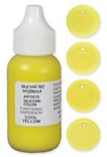 silicone art materials Silicone Dispersion Cool Yellow 1oz