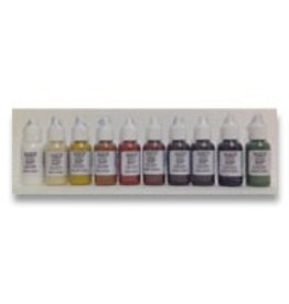 silicone art materials SAM Dispersion Earthtone 1/2oz Set of 10