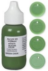 silicone art materials Silicone Dispersion Green Oxide 1oz