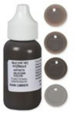 silicone art materials Silicone Dispersion Raw Umber 1oz