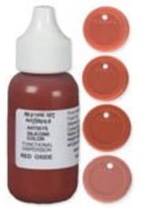 silicone art materials Silicone Dispersion Red Oxide 1oz
