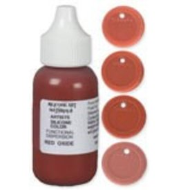 silicone art materials SAM Dispersion Red Oxide 1oz