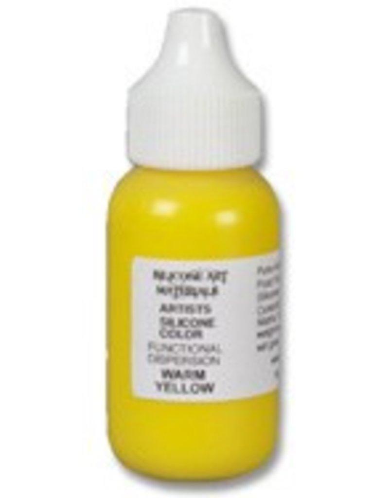 silicone art materials Silicone Dispersion Warm Yellow 1oz