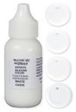 silicone art materials Silicone Dispersion White Oxide 1oz