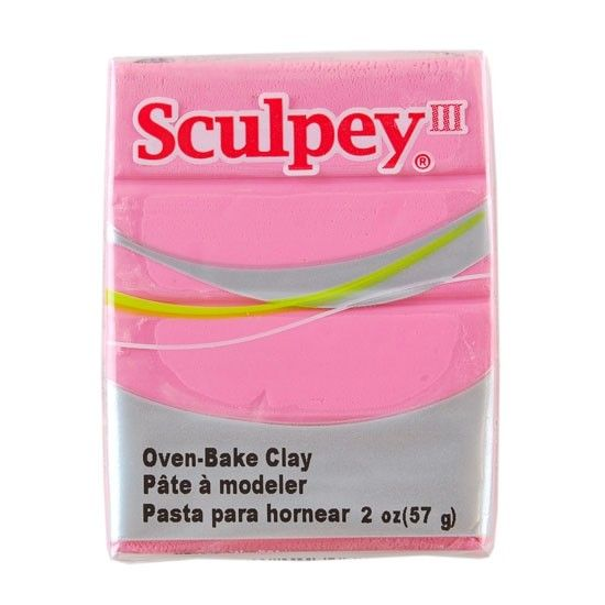 Polyform Sculpey III Dusty Rose 2oz