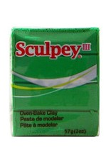 Polyform Sculpey III Emerald 2oz