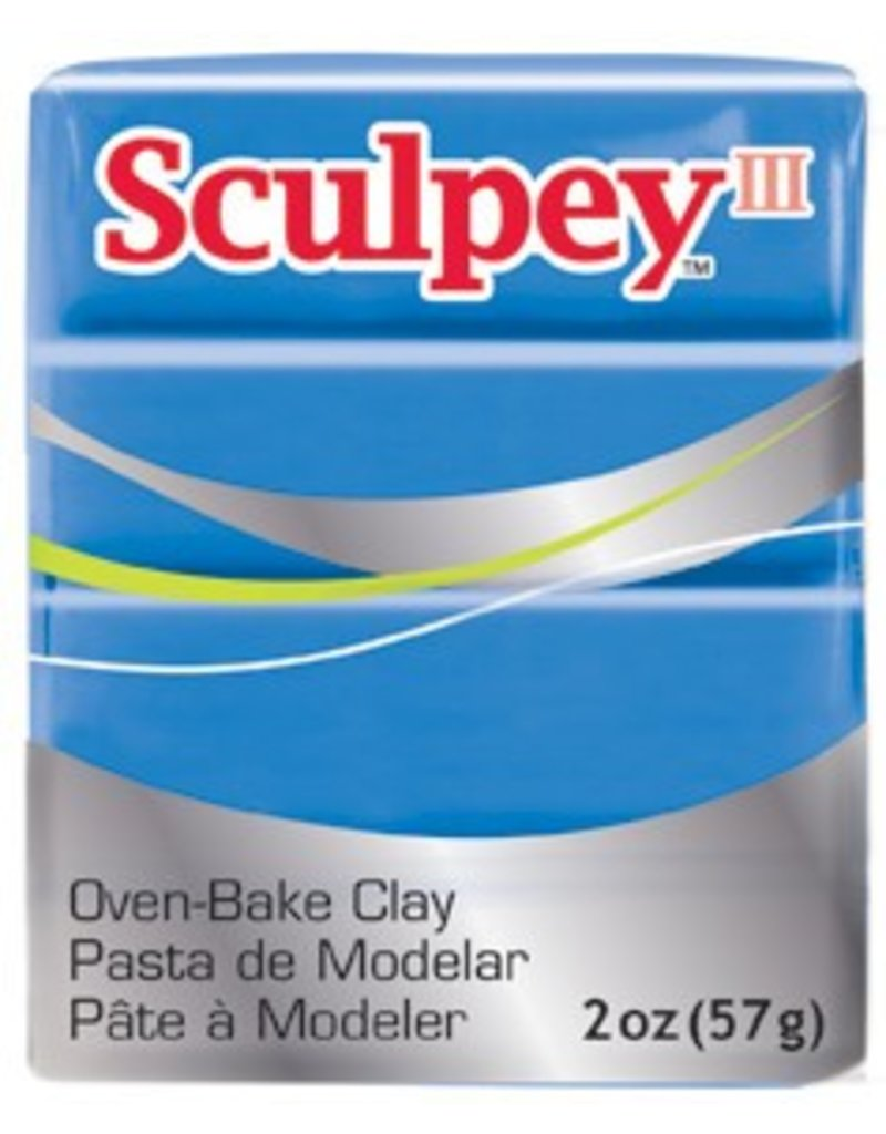Polyform Sculpey III French Blue 2oz